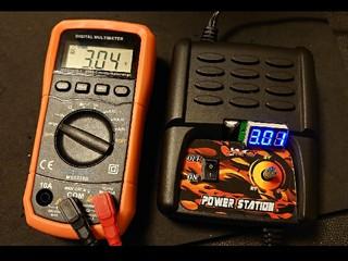 パワーステーション with 電圧計