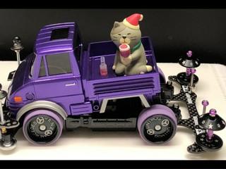 ウニモグ★ローライダー・サンタ猫バージョン