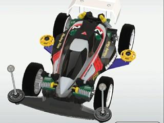 超速グランプリのマシン