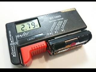 機能2 電池2本の電圧【恒久】