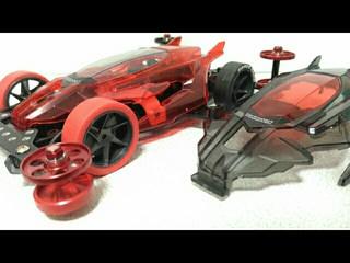 デクロス スケスケ 赤×黒