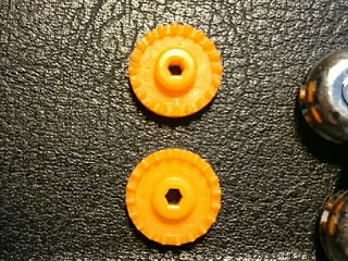 オレンジクラウンギアヘリカル加工