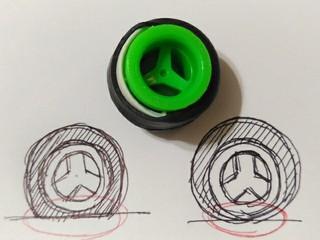 タイヤが美しいのは、どこかにホイールを隠しているからだよ