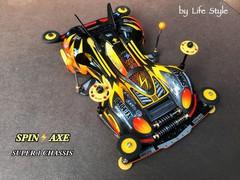 spin -axe