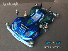 blue spin