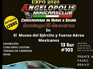 evento en México de mini 4wd
