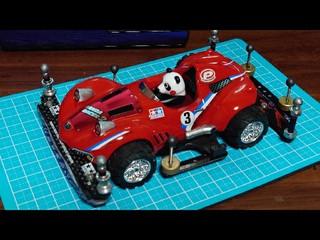 パンダレーサー2 MA仕立て トレイルタイヤを添えて