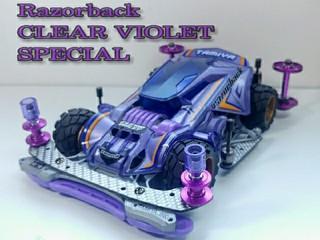 Razorback CLEAR VIOLET SPECIAL