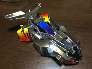 シャドウブレイカーZ-3 シルバーメッキボディセット