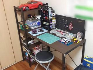 自宅作業スペース