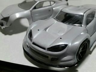 ミニ四駆自作ポリカボディ オリジナルボディ01GT