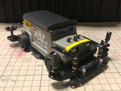 ジプニー クリーニングカー