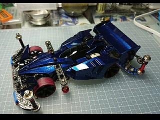 ダークメタリックブルーサイクロン-VZ(DMBS-VZ)