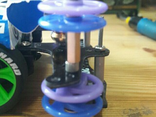 four layer 19 mm plastic rollers