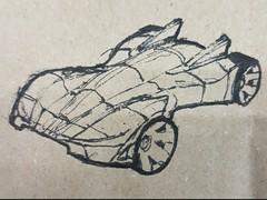 My mini 4wd sketch 1