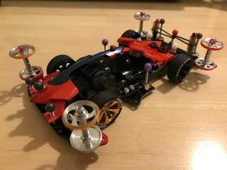 Yudai racing mach frame F-GT