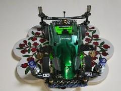 緑のスペル・デルフィーノ(ファイヤーサンダードラゴン)