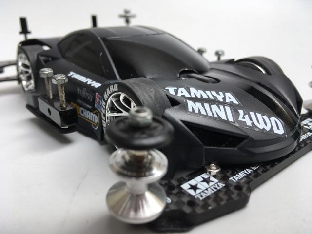 Traxxas 3926 Bumper Model Car Parts Black//Chrome