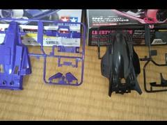 ミニ四駆を代表する紫のマシーンと、ピンクのマシーンと言えば‼