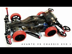 Avante Jr VS Chassis Evo I