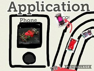 ミニ四駆とアプリ