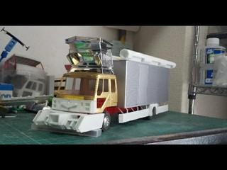 アートトラック模型