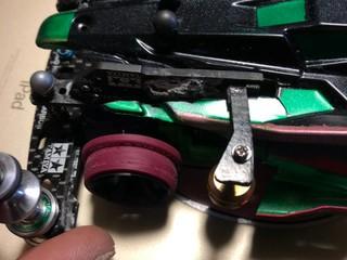 制限解除、P式緩衝器オールオープン。