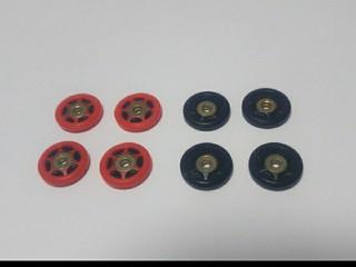 13mmプラローラー(メタルブッシュ、POM)
