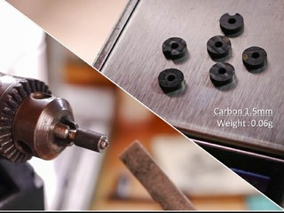 カーボン大ワッシャー(1.5mm)0.06g