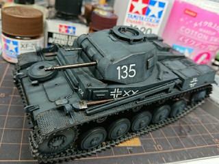 German middle tank PANZERⅡ
