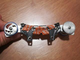 VZのフロントバンパーを活用したスライドダンパー