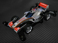 シャドウシャーク F1カラーリング メルセデスMP4-23