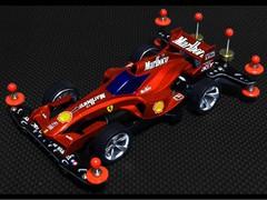 シャドウシャーク F1カラーリング フェラーリ F2007