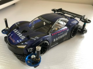 RAYBRIG NSX-GT風ライキリ
