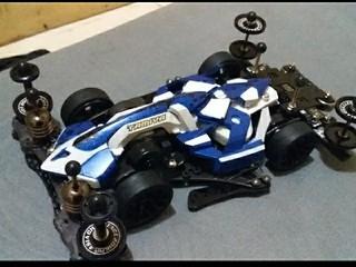 mach frame blue evolution