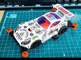 STUSSY GT RACER