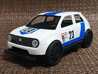 Honda e レトロレーサー