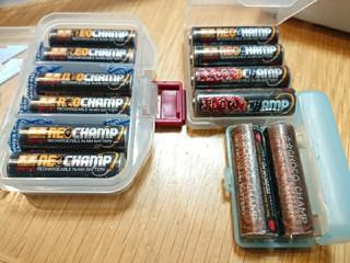 SLOW電池と電池の区分け