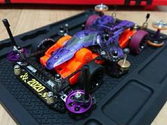 紫ファイヤー野郎(ファイヤードラゴン)