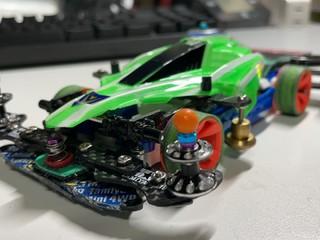 フロント1軸テストカー