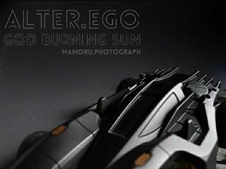 GOD BURNING SUN Black Custom