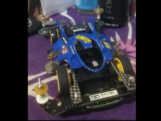 tz chassis rear LG bumper