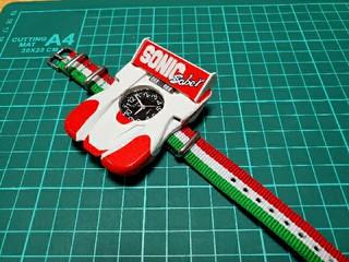 ソニックセイバー腕時計