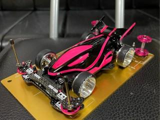 デュアルリッジjr 蛍光ピンク&黒 VZ