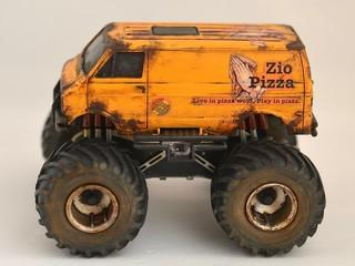 """lunch box Jr.  """"Zio Pizza VAN"""""""