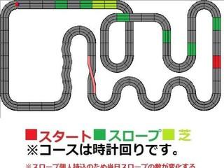 5月17日ファーベル伊勢崎ミニ四駆大会コース