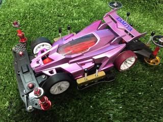 【B-MAX】ピンクデクロス