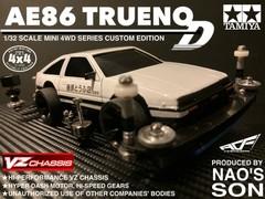 TOYOTA AE86 TRUENO type D