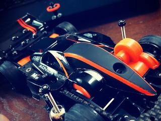 バンキッシュFM-A オレンジ×ブラック