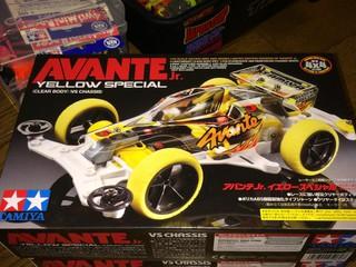 AVANTE jr 黄色